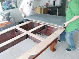Pool table moves in Peoria Illinois