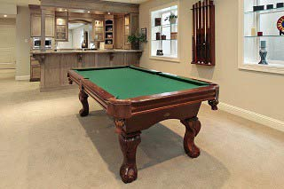 Factors that determine the cost to move a pool table in Peoria