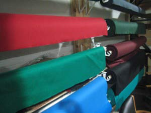 Pool Table Refelting Cloth Choices in Peoria
