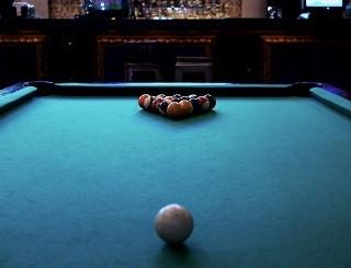 Pool table room sizes chart in Peoria