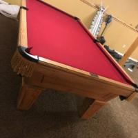8 foot Playmaster Renaissance Pool Table