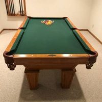 7ft Brunswick Slate Pool Table