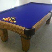 Olhausen Pool Table 8ft Slate Blue